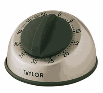 Temporizador análogo acero inox 60 minutos - Taylor Precision