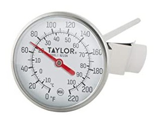Termómetros bi-metal mecánicos Taylor Precision